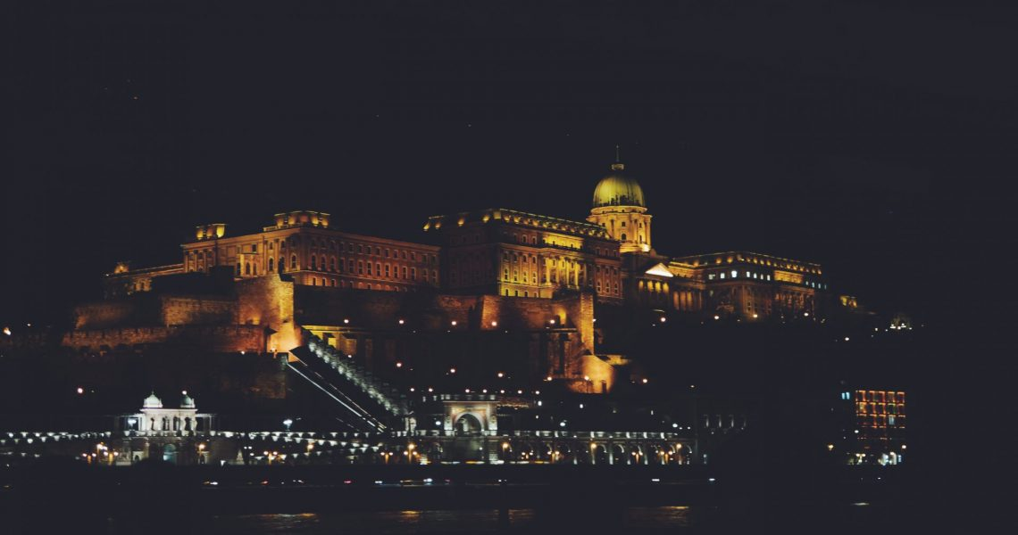 View of the parliament from the Danube river